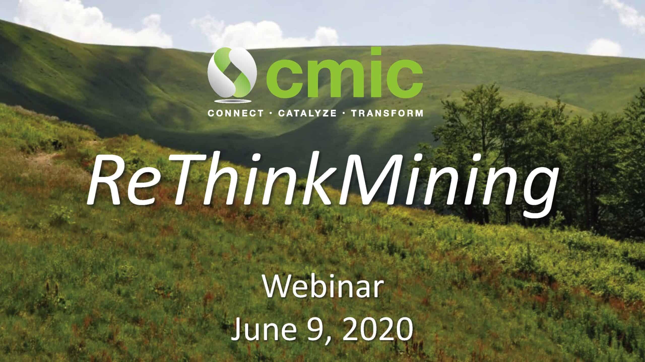 ReThink Mining webinar title slide