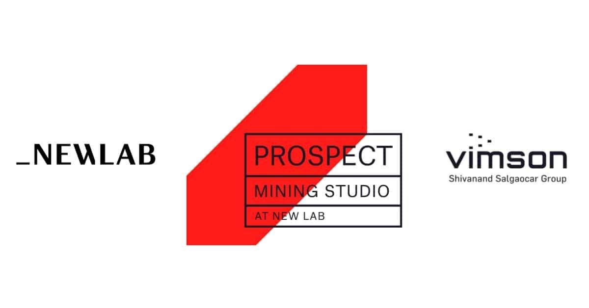 Prospect Mining Studio Newlab collaboration