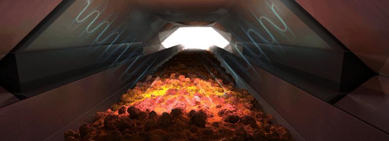 Sensor based ore sorting